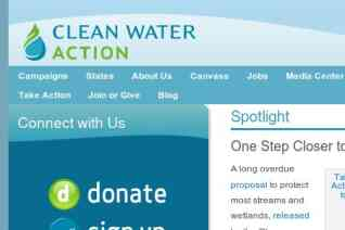 Clean Water Action reviews and complaints