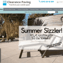 Clearance Paving