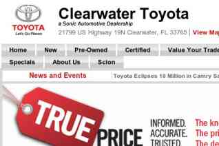 Clearwater Toyota reviews and complaints