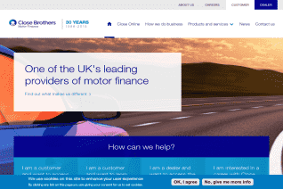 Close Brothers Motor Finance reviews and complaints