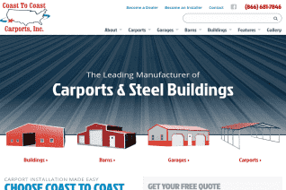 Coast To Coast Carports reviews and complaints