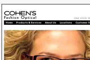 Cohens Fashion Optical reviews and complaints