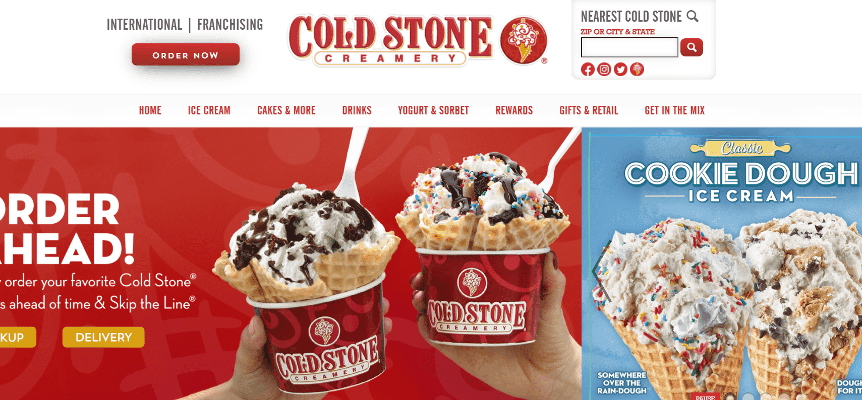 Cold Stone Creamery reviews and complaints