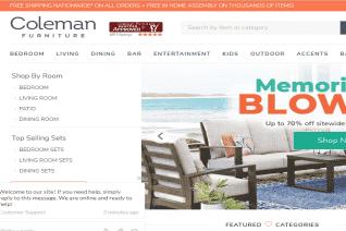 Coleman Furniture reviews and complaints