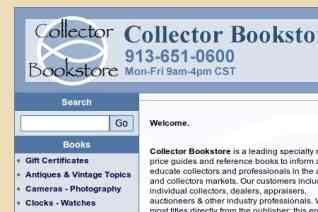 Collector Bookstore reviews and complaints