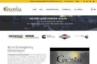 Colonial Generators reviews and complaints
