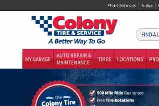 Colony Tire reviews and complaints