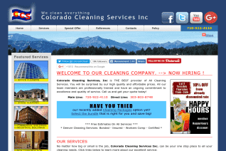 Colorado Cleaning Services reviews and complaints