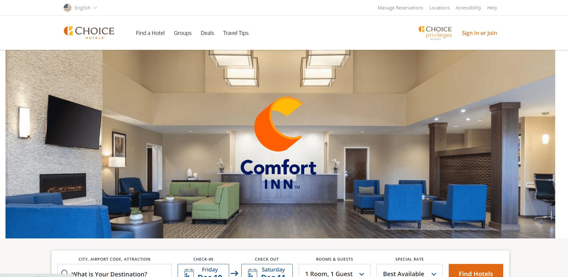Comfort Inn reviews and complaints