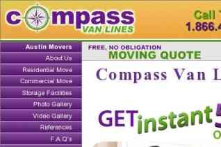 Compass Van Lines reviews and complaints