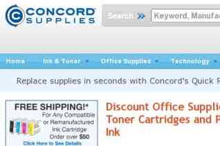 Concord Supplies reviews and complaints