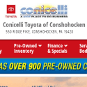 Conicelli Toyota Of Conshohocken reviews and complaints