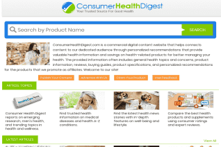 Consumer Health Digest reviews and complaints