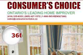 Consumers Choice windows reviews and complaints