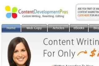 Content Development Pros reviews and complaints