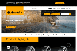 Continental Tires reviews and complaints