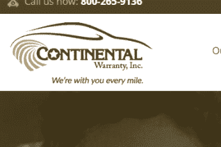 Continental Warranty reviews and complaints