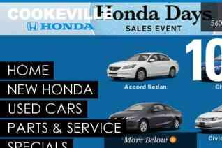 Cookeville Honda reviews and complaints