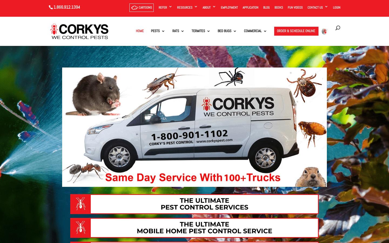 Corkys Pest Control reviews and complaints