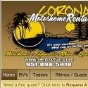 Corona RV Rentals
