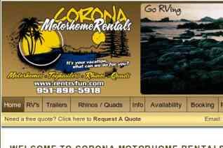 Corona RV Rentals reviews and complaints