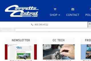 Corvette Central reviews and complaints