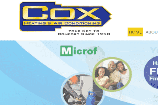 Cox Heating And Air Conditioning reviews and complaints