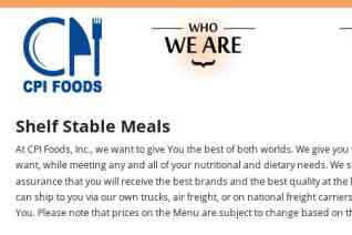 Cpi Foods reviews and complaints