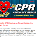 CPR Appliance Repair reviews and complaints