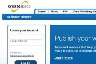 CreateSpace reviews and complaints