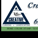 Creative Curbing and Lanscaping