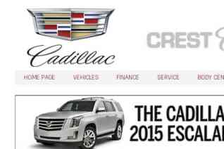 Crest Cadillac reviews and complaints