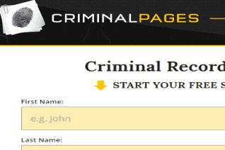 Criminal Pages reviews and complaints
