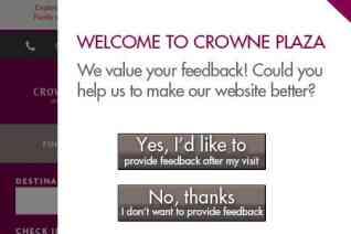 Crowne Plaza reviews and complaints