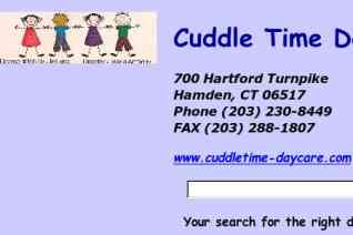 Cuddle Time Daycare reviews and complaints