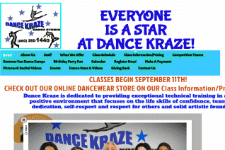 Dance Kraze Dance Studio reviews and complaints