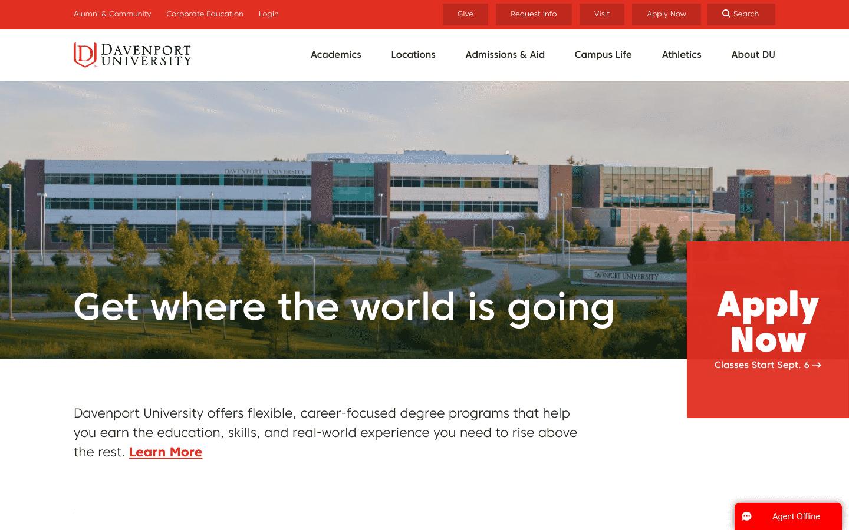 Davenport University reviews and complaints