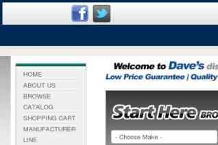 Daves Discount Auto Parts reviews and complaints