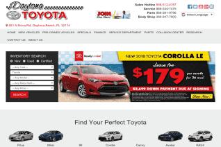 Daytona Toyota reviews and complaints
