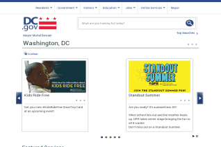 DC gov reviews and complaints