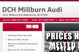 DCH Millburn Audi reviews and complaints