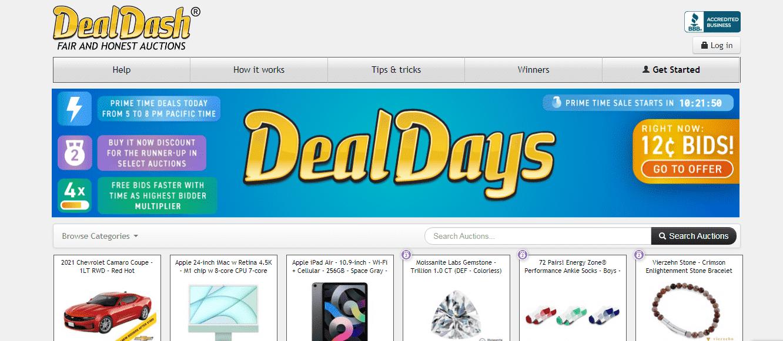 DealDash reviews and complaints