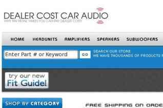 Dealer Cost Car Audio reviews and complaints