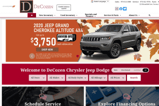 DeCozen Chrysler Jeep Dodge RAM reviews and complaints
