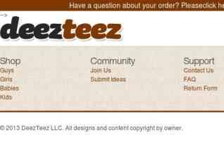 DeezTeez reviews and complaints