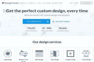 DesignCrowd reviews and complaints