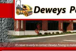 Deweys Paving reviews and complaints