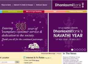 Dhanlaxmi Bank reviews and complaints