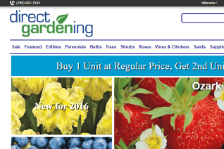 DirectGardening reviews and complaints
