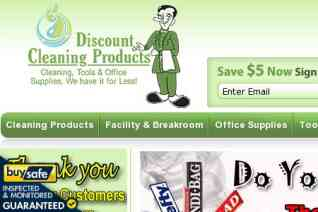 Discount Cleaning Products reviews and complaints
